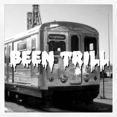 Been Trill! #4real #silverarrow #subway #train #ghost #stockholm #been #trill #hiphop #graffiti #oldschool #stylewars #culture #stolenpic #fuckinstagram
