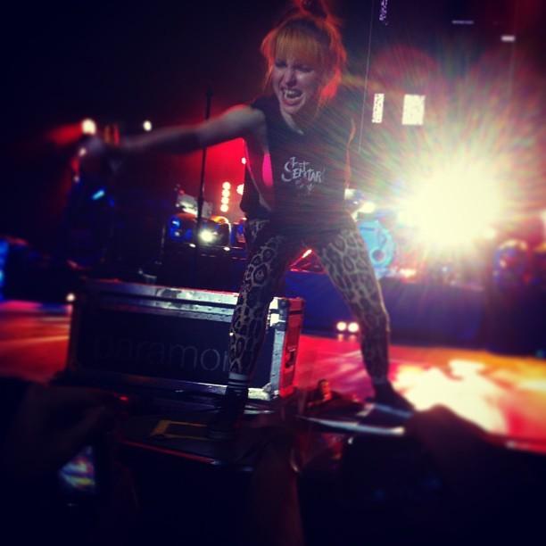 Paramore en Chile 2013 #paramorechile #paramore #2013 @yelyahnwilliams  #movistar #movistararena #arena #hayleywilliams #hayley #williams #dgmedios #dg #medios #taylor #concierto #laraja! #lml