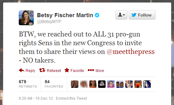 Cowards, called out by Meet The Press producer Betsy Fischer Martin. (h/t matthewmelange)