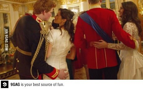 AHAHAHAAAA!!! We saw that Prince Harry!
