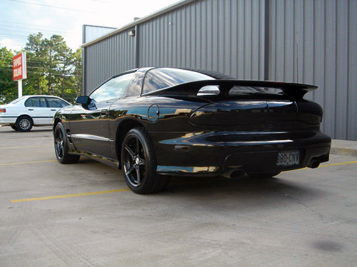 Risquemartin submitted: This was my first T/A. All blacked out. My new one is all stock. Submission Sunday