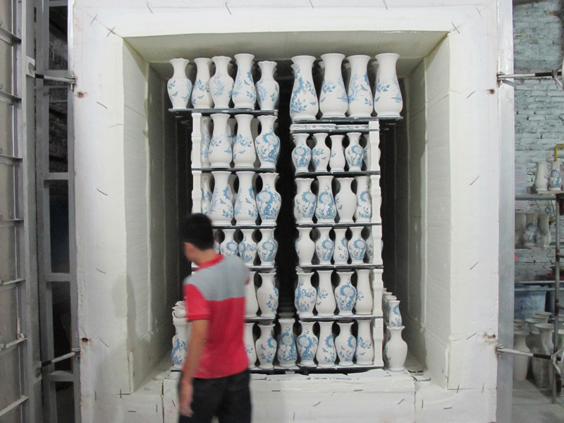"Giant Kiln Sheryo x The Yok go to Vietnam to paint some vases for their ""Pipe Dreams"" Show in NY www.sheryoart.com"