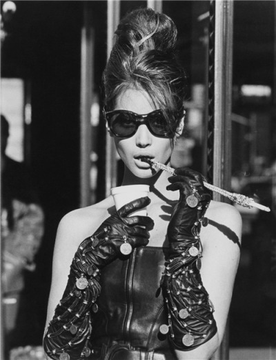l*o*v*e  via  tatielle: ru_glamour: Christy Turlington as Holly Golightly by Steven Meisel