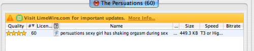 "katieschenk:markyb:antikris:    I tried to look up the band ""The Persuasion"" and this is all I found. Not to sound like a jerk, but you should try looking up ""The Persuasion"" instead of ""The Persuations""…"
