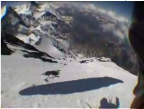 Ski-Gliding the Eiger - YouTube