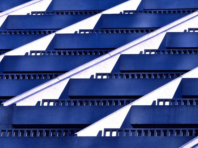 balconies design plate 4 by Demetrios Lyras on Flickr. Hyatt Regency San Francisco CA.US
