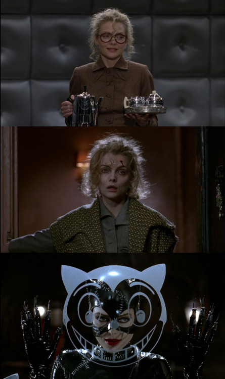 beautilation:  evolution of Selina Kyle in Batman Returns
