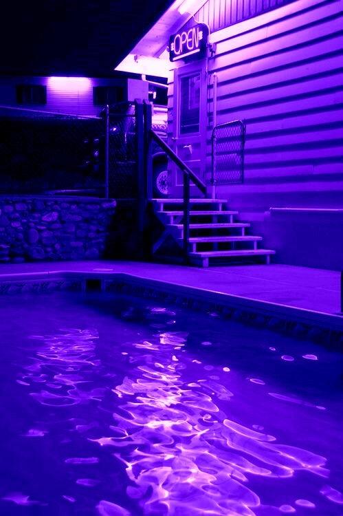 Pool Room Neon Lights
