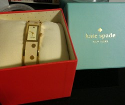 Loving my new Kate Spade watch
