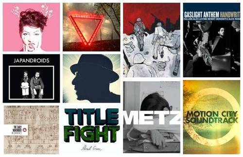 AP's 10 Essential albums of 2012