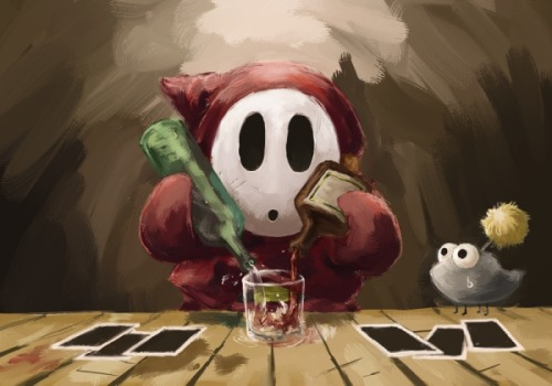 it8bit:  Cocktail of the Shy Guy Created by ybkt