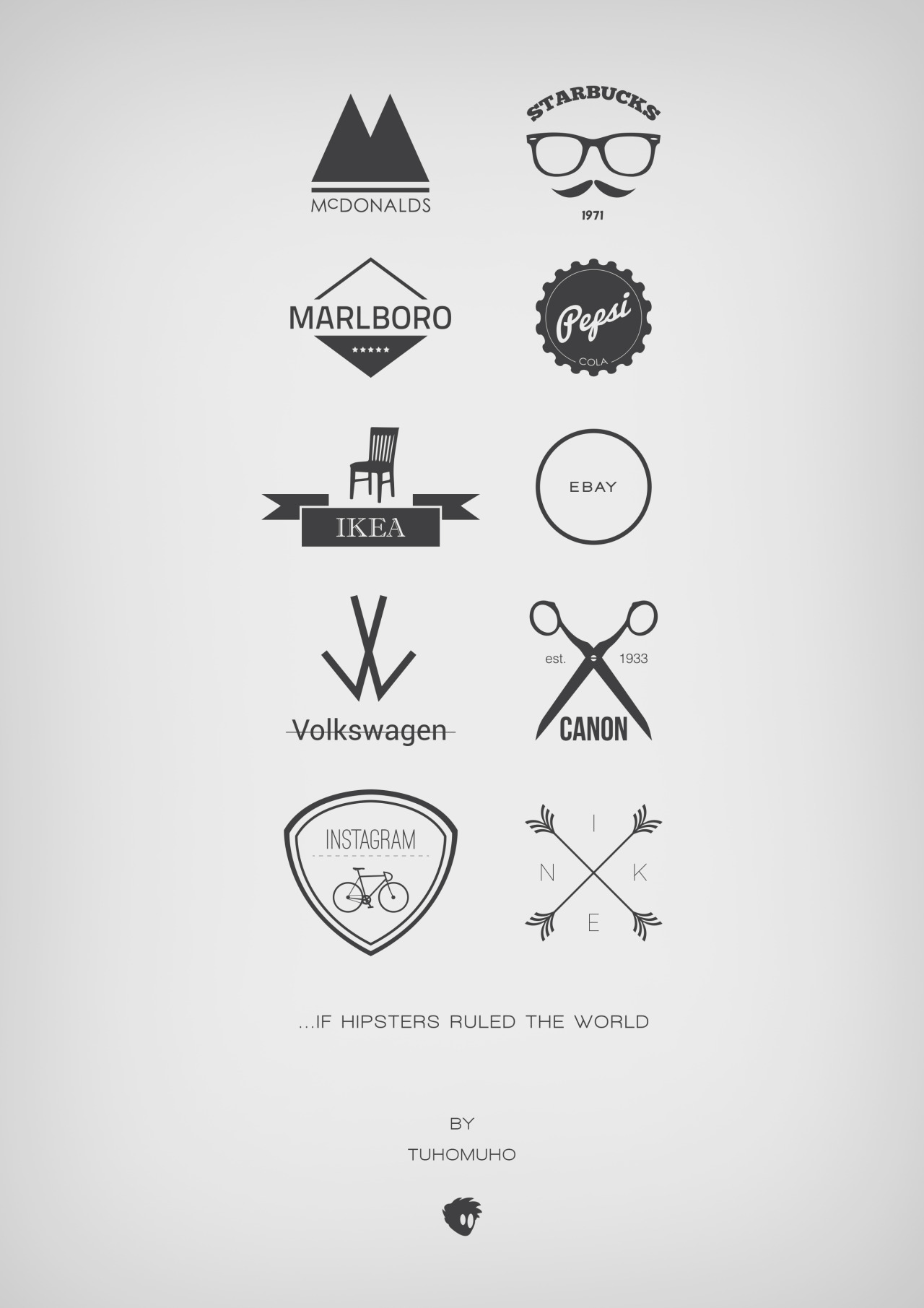designersof:  If hipsters ruled the world.