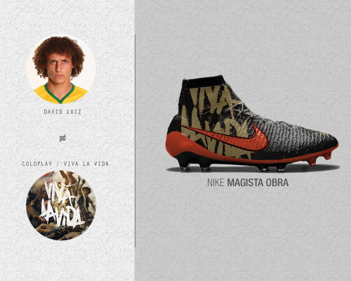 Soccer Cleats x Music Albums