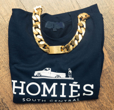 "fashionpassionates:  Get the tee here: HOMIES TEE Shop FP | Fashion Passionates ""get your fashion fix with fashion passionates!"""