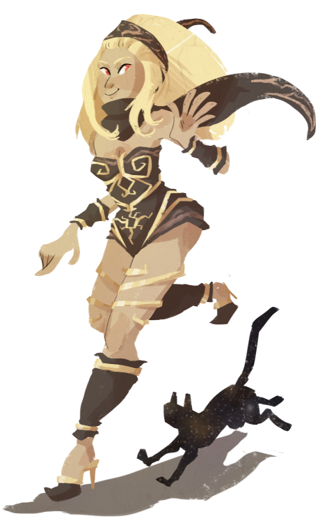 I'm enjoying Gravity Rush a lot so far!! Kat has such a cute design uvvu