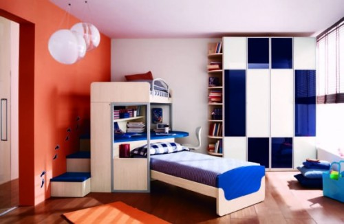 homedesigning:  (via Fabulous modern themed rooms for boys and girls)