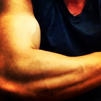 A little biceps