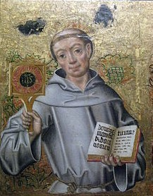 A Saint a day: May 20  St. Bernardine of Siena     In the year 1400, a young man came to the door of the largest hospital in Siena. A plague was raging through the city so horrible that as many as twenty people died each day just in the hospital alone. And many of the people who died were those who were needed to tend the ill. It was a desperate situation — more and more people were falling ill and fewer and fewer people were there to help them.  The twenty-year-old man who stood there had not come because he was ill but because he wanted to help. And he brought not new patients but young men like himself willing to tend the dying. For four months Bernardine and his companions worked day and night not only to comfort the patients but to organize and clean the hospital. Only at the end of the plague did Bernardine himself fall ill — of exhaustion.  But that was Bernardine's way — whatever he did, he put his whole self into it. Immediately after he recovered he was back caring for the sick — but this time, he was responsible not for a whole hospital but one person — an invalid aunt. Yet for fourteen months she got his full attention. Throughout his life, he put as much energy into caring for one person as for hundreds, as much commitment into converting one citizen as to preaching to a whole city.  After his aunt died, Bernardine started to think about where his life should be going. The son of a noble family, he had been orphaned at seven and raised by an aunt. We are told as a young person that he hated indecent talk so much that he would blush when he heard it. Even his schoolmates hesitated to make him so uncomfortable but apparently one adult citizen thought it would be a great joke to needle Bernardine. In a public marketplace he stopped Bernardine and started to talk to him in a shameful way. But if he had thought to get away with his cruel trick, he was surprised when Bernardine slapped him in the face. The man slunk away, shamed in front of the very crowd he'd been trying to impress.  Bernardine, who had come to Siena to study, threw himself into prayer and fasting to discover what God wanted him to do. One might have expected him to continue his work with the sick but in 1403 he joined the Franciscans and in 1404 he was ordained a priest.  The Franciscans were known as missionary preachers, but Bernardine did very little preaching with because of a voice that was weak and hoarse. For twelve years he remained in the background, his energies going to prayer or to his own spiritual conversion and preparation.  At the end of that time, he went to Milan on a mission. When he got up to preach his voice was strong and commanding and his words so convincing that the crowd would not let him leave unless he promised to come back.     Thus began the missionary life of the one whom Pope Pius II called a second Paul. As usual, Bernardine through his whole self, body and soul, into his new career. He crisscrossed Italy on foot, preaching for hours at a time, several times a day. We are told he preached on punishment for sin as well as reward for virtue but focusing in the end on the mercy of Jesus and the love of Mary. His special devotion was to the Holy Name of Jesus.  Some who were jealous denounced him to the pope by saying he preached superstition. Silenced for a short while, Bernardine was soon cleared and back to preaching.  Bernardine refused several cities that wanted him as bishop but he was unable to avoid being named vicar general of his order. All his energy during that period went to renewing the original spirit of the order.  Soon, however, Bernardine heard the call to go back to preaching which consumed his last days. As a matter of fact, even when it was clear he was dying, he preached fifty consecutive days. He died in 1444 when he was almost 64 years old.  www.catholiconline.org