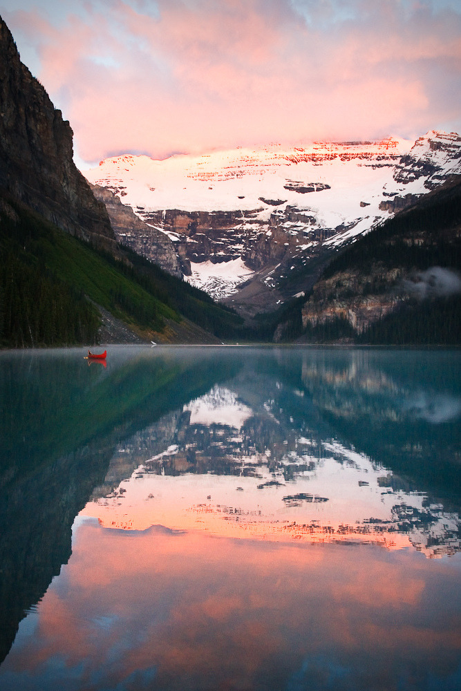 interjects:  Lake Louise Canada (by Litchi)