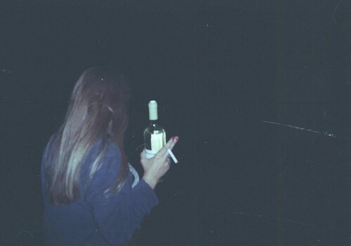 smoking cigarettes on tumblr