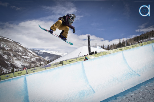 Women's super pipe atBurton US Open at Vail