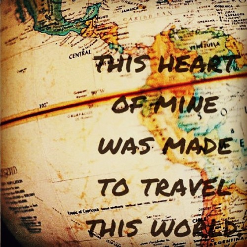 okgoamy:  #Wanderlust #TrueStory #LoveLoveLove ✈🚢🚞❤
