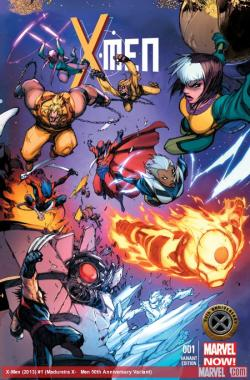 astonishingx:    X-Men #1 (Age of Apocalypse variant) by Joe Madureira