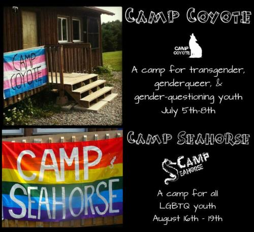 We are once again hosting two amazing camps this summer so save the dates! There will be more info provided soon on how to register!! :)