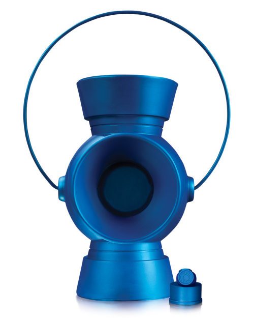 "jesseescobar:  1:1 SCALE BLUE LANTERN POWER BATTERY AND RING PROP REPLICA ""In fearful day, in raging night,  with strong hearts full, our souls ignite. When all seems lost in the War of Light, look to the stars—for hope burns bright!"" All will be well when you join the corps and spread hope throughout the galaxy with this replica Blue Lantern Power Battery and Ring! Measuring approximately 11.5"" high. $199.95 US • On Sale November 2013 *Allocations May Occur  oh my god it's finally happened no one let me spend $200 on this because I freaking might"