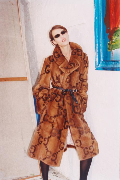 Aymeline Valade fashion Tung Walsh Vogue Ukraine Gucci