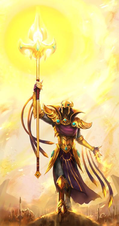summonershowcase:  Azir by yy6242