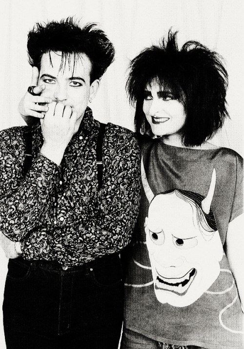 Robert Smith and Siouxise