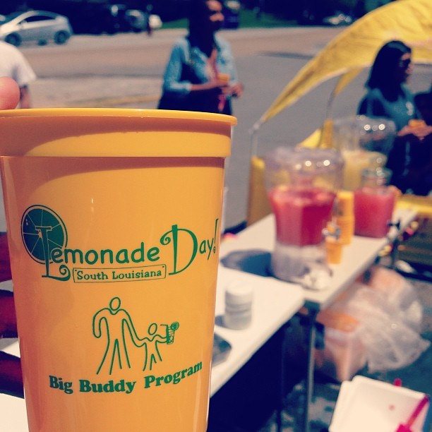 Lemonade Day! What a great way to teach children in Louisiana the basics of capitalism! (at Bet-R-Store)