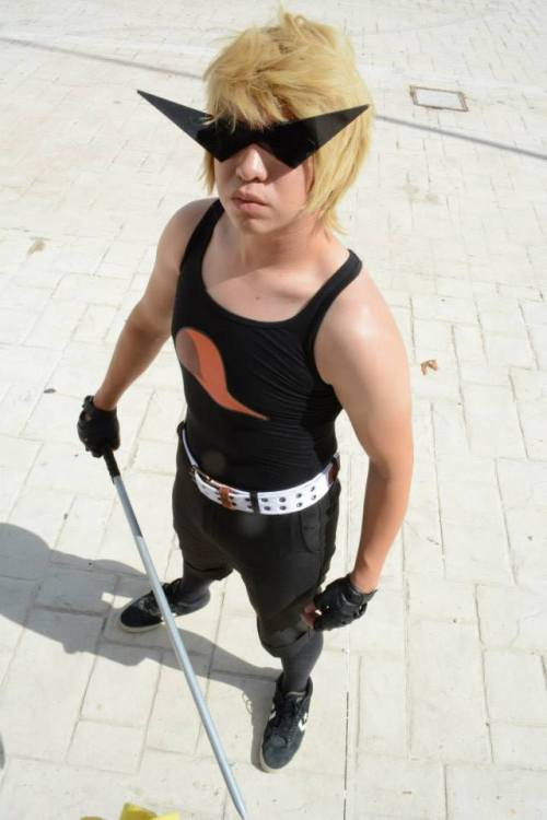 Dirk Strider ~ (Fucking weather makes me sweat … but that makes me look SO hot xD)