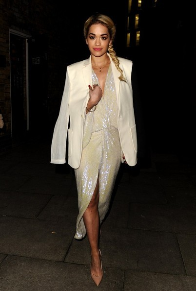 thefashionbomb:   Hot! or Hmm… Rita Ora's Brit Awards Nominations Announcement Diane von Furstenberg Spring 2013 Gown