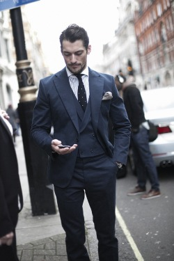 stayfreshlooksharp:  gthegentleman:  David Gandy  Waistcoat win.