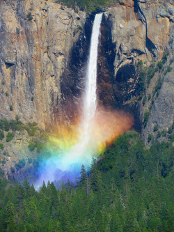 oxane:  Water Rainbow (Yosemite) by flexbaum