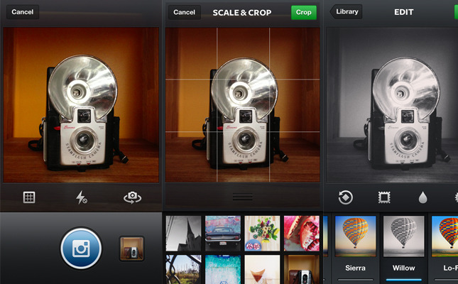 "Instagram 3.2 brings much improved camera Today Instagram has been updated to version 3.2 and on iOS brings an ""Instagram-themed"" shutter and shutter release button, a preview of the most recent photos on your camera roll, an improved….continue reading"