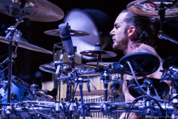 Drummer Shannon Leto of 30 Seconds to Mars performs at the KROQ weenie roast y fiesta at the Verizon Wireless Amphitheater on May 18, 2013 in Irvine, California. (HQ)