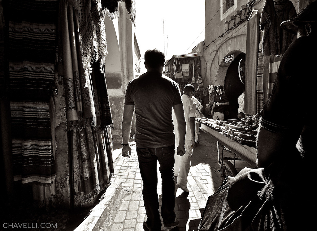 Walking through the Marrakech Souk