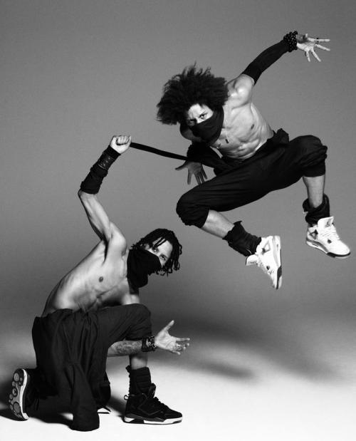 Sidi Beauty  Les Twins by Paolo Kudacki | 25 Magazine (Spring/Summer 2013)