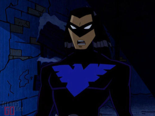 vilevillage:  Shan't we forget the episode that Robin becomes Night Wing in the future on Teen Titans?