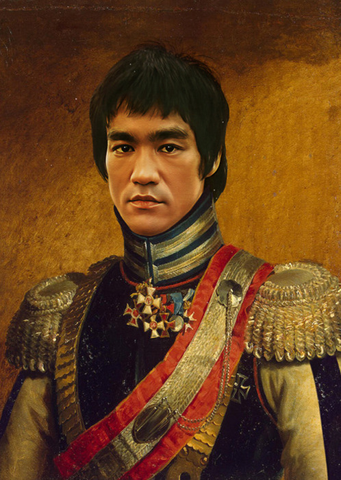 Replaceface  -Bruce Lee http://replaceface.tumblr.com/ (An amazing Tumblr!)