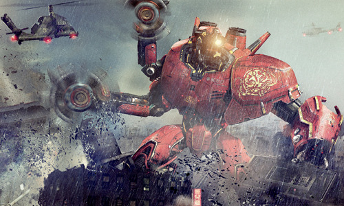 Enormous Pacific Rim poster brings the action We know Pacific Rim's tagline is 'Go Big or Go Extinct' but after seeing this massive new poster, we can't help but feel it should be 'Size Does Matter'…