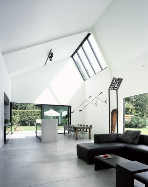 saw tooth house | interior ~ pascal francois architect