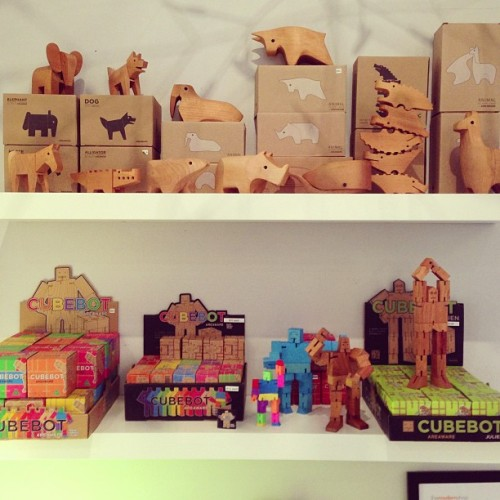 @areaware cubebots and animals. Starting at $10!!  (at The Modern Shop)