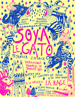 Expo Soyalegato  Lyon, france!