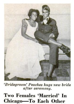 explore-blog:   Decades prior to this bold public display of queer affection, African American female couples in New York strategized alternative ways to obtain marriage licenses in the 1920s and 30s.  Fascinating read on queer African American women and the history of marriage.