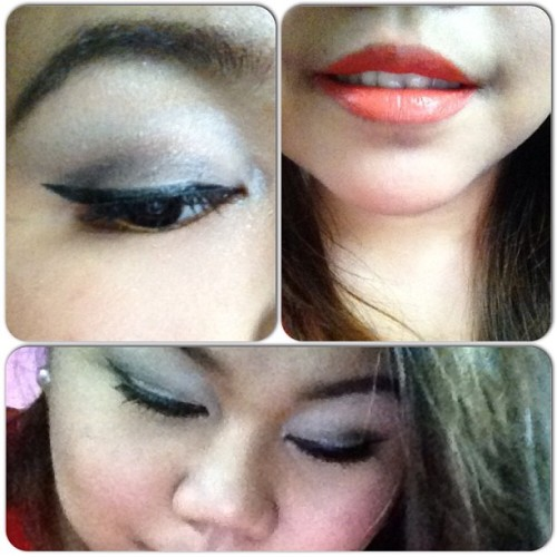 Pag bigyan na. :)) #makeupaddict #makeupoftheday #instapic #igmers #passion