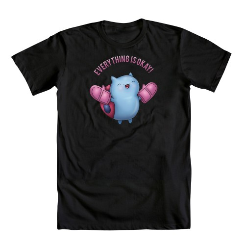 welovefineshirts:  Yeah! Catbug is here and Everything is O-K! One of our best-selling Bravest Warriors tees is the Daily Deal for 15% OFF! Artists! Get those Catbug, Impossibear & Jelly Kid designs in by end of day today and you could WIN!